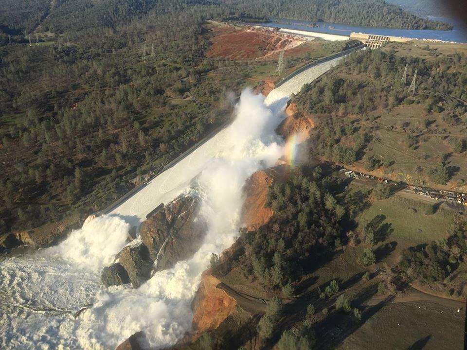 Oroville Dam Evacuation