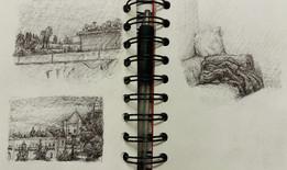Sketchbook, Jerusalem, Pen