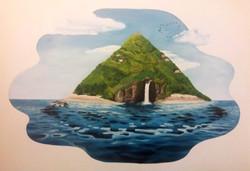 Floating Island - Mural