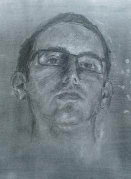 Self Portrait, Charcoal