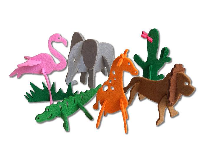 """3D Puzzle """"Africa"""""""