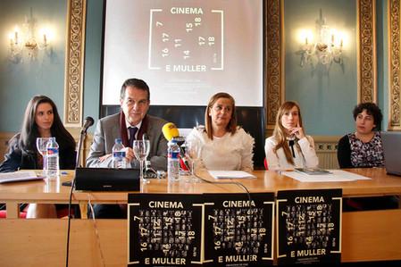 """Presentación del proyecto """"Cinema e Muller"""""""