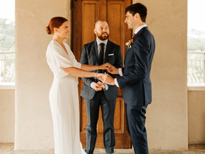 Elopement at Chapel Dulcinea in Austin, TX