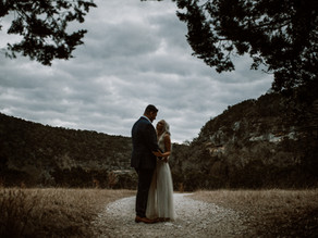 engagement session at lost maples state natural area