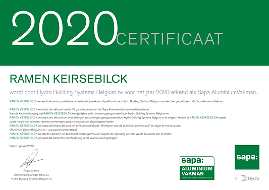 Certificaat SAV_NL_2020_Keirsebilck kopi