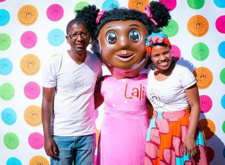 Lali at the launch of Hamleys Sandton