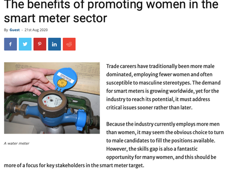 Article: The benefits of promoting women in the Smart Meter Sector