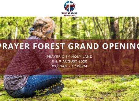 Prayer Forest Grand Opening