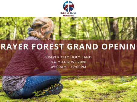 Prayer Forest Grand Opening