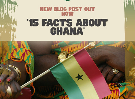 15 facts about Ghana
