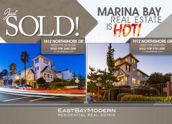Record Sales Prices in Richmond's Marina Bay