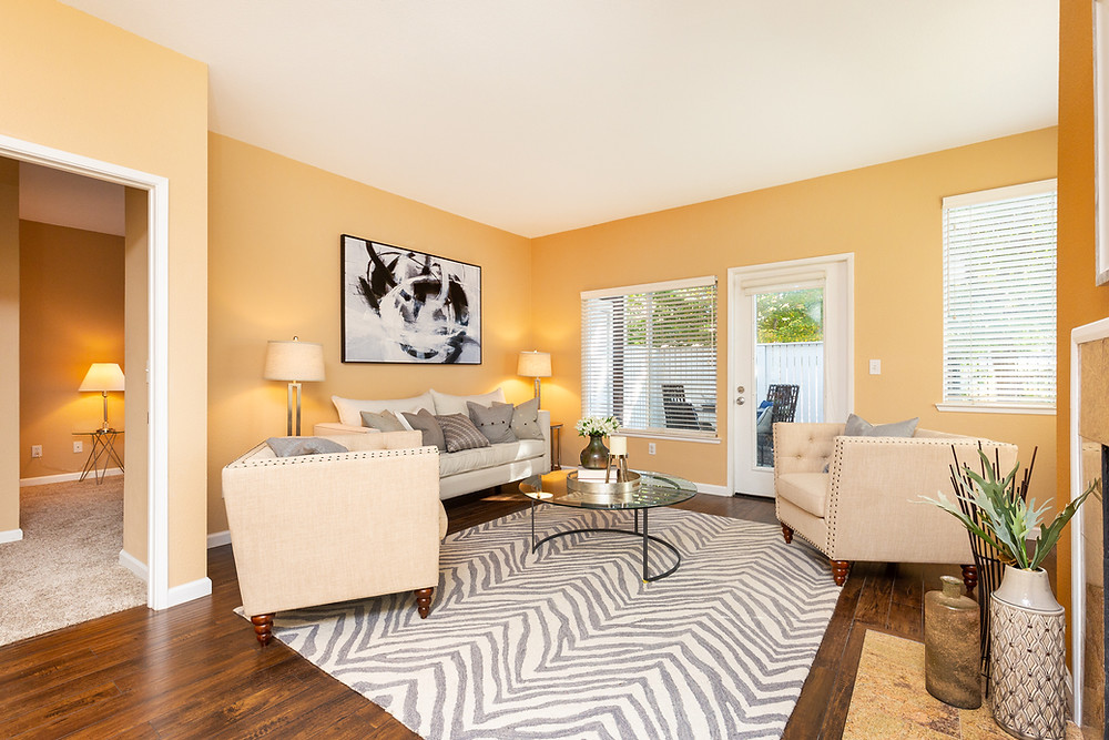 Marina Bay Condo Living Room