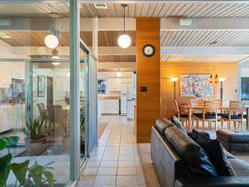 Claude Oakland Atrium Eichler - For Sale