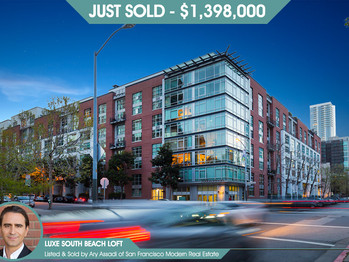 200 Brannan #207 San Francisco - Just Sold!
