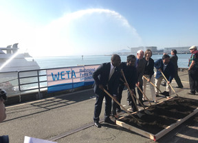 Richmond Ferry Groundbreaking Commences