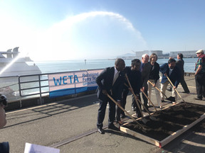 Richmond Ferry Groundbreaking Commences