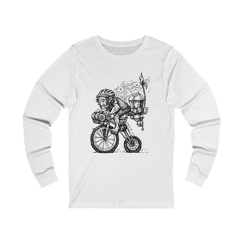 Bikeman Long Sleeve Tee
