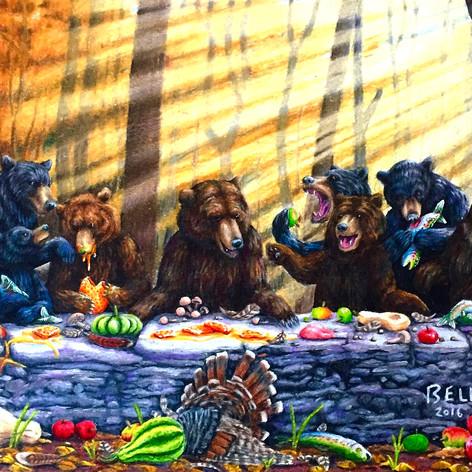 Last Supper Before the Sleep