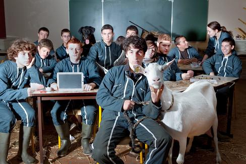 La Photographie de Classe - Lycée Jean Marie Bouloux Montmorillon - © Audrey Tabary