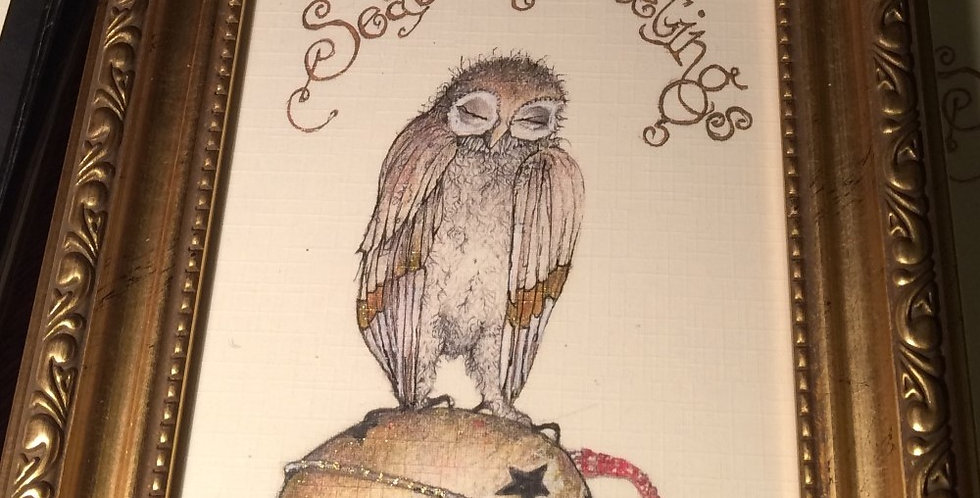 Owl and Bell