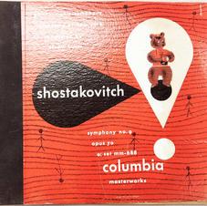 Shostakovitch Columbia