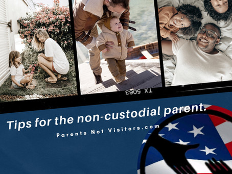 Tips for the non-custodial parent.