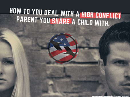 How to deal with high conflict ex's that you share children with.
