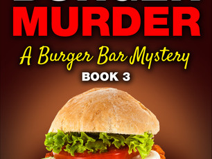 Cover Reveal - A Burger Bar Mystery Book 3
