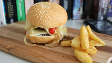 Recipe Idea: The Double Cheese Burger
