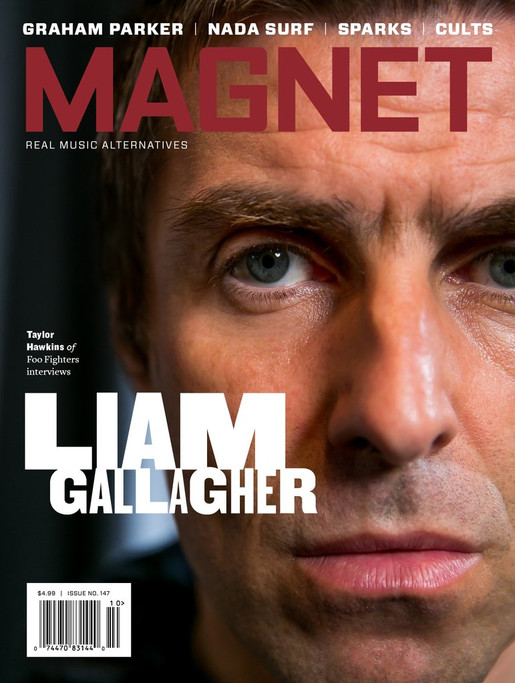 liam gallagher flint chaney cover magnet