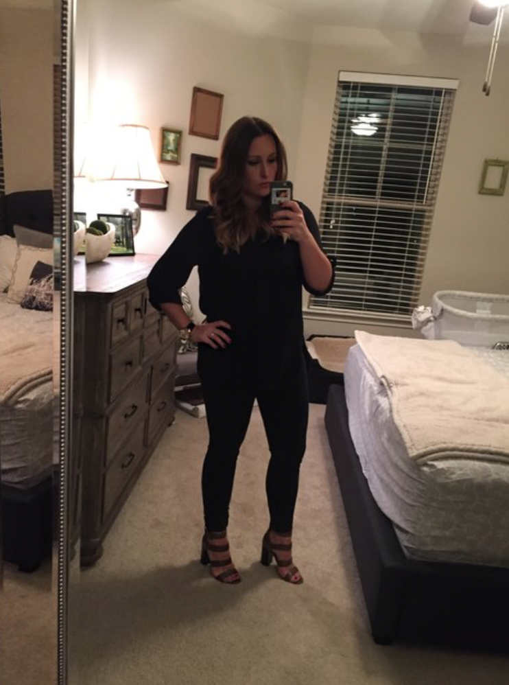 3 weeks post Olivia. I miss that healthy body dearly.