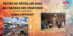 Retiro Réveillon 2022 Chapada dos Veadeiros