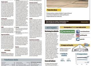 II Congresso Internacional de Saúde Plena no Jornal Correio Braziliense