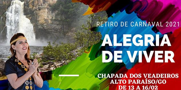 Retiro carnaval 2021 Chapada dos Veadeir