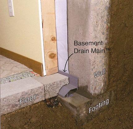 Basement Drain Main