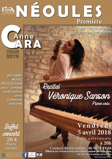 AFFICHE_ANNE_CARA_récital_Véronique_SANS