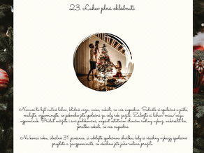 Adventní kalendář - den 23