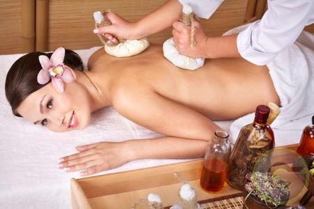 Thai Herbal Ball Massage