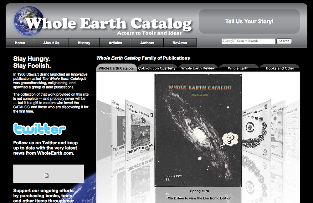 http://www.wholeearth.com