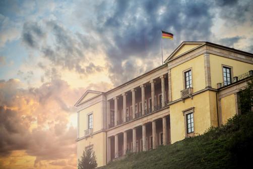 Fotomontage Villa Ludwigshöhe