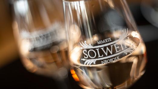 Glas für Solwein-Merchandise
