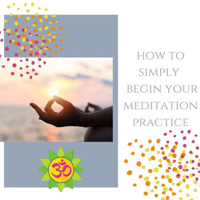 How to Simply Meditate