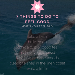7 things to do to feel good
