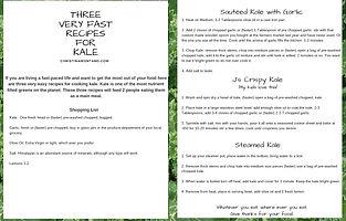 Kale Recipies