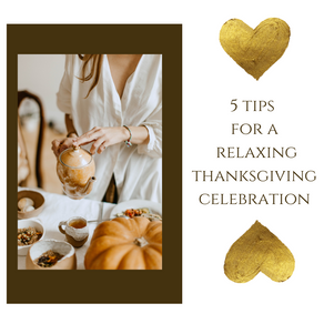 Five tips for a relaxing Thanksgiving Holiday