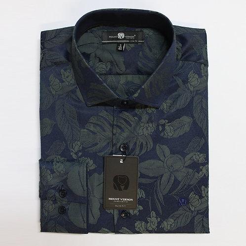 Camisa Slim Fit Mount Vernon F3304