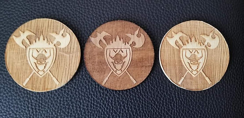 Viking Army coasters