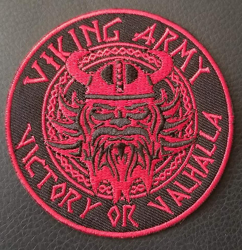 Magnus Red and Black seal patch 3.5""