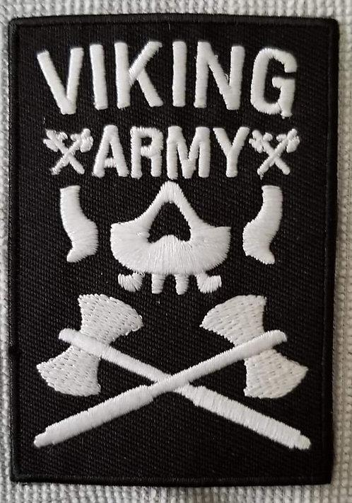 "Viking Army Bullet Club patch 3.5"""