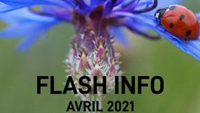 Flash info : Avril 2021